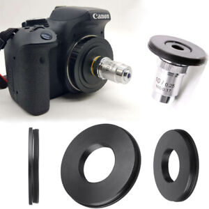 RMS-Adapter-Microscope-Objective-To-Canon-EF-EOS-DSLR-SLR-Lab-Equipment