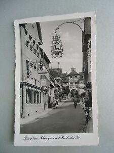 Ansichtskarte-Kuenzelsau-Schnurgasse-mit-Morsbacher-Tor