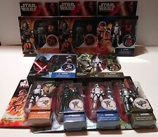 Large Star Wars The Force Awakens MOC Lot of 12 + Shipping Carton MINT CONDITION