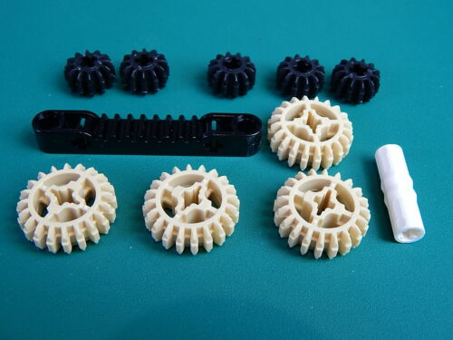 11x New Assorted Lego Technic gear rack driving ring gear part 32269 87761