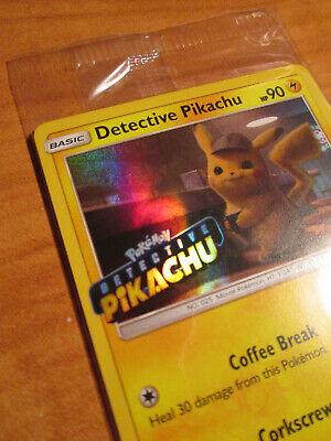 ENTON SM199-OVP-Pokemon Master Detective Pikachu-Black Star Promo
