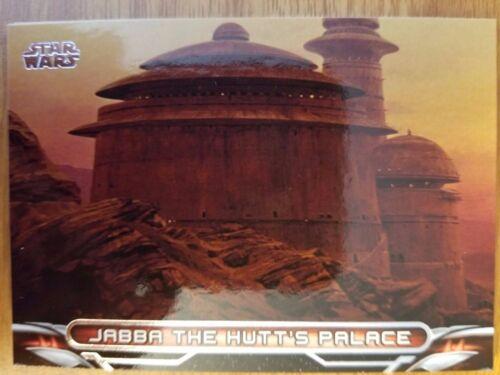 2017 Star Wars Galactic Files Reborn #L-1 Jabba the Hutt/'s Palace Locations