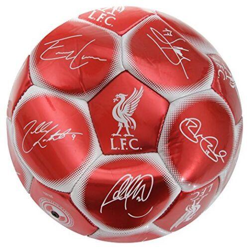 Liverpool FC FOOTBALL FIRMA Taglia 5 Nuovo Regalo