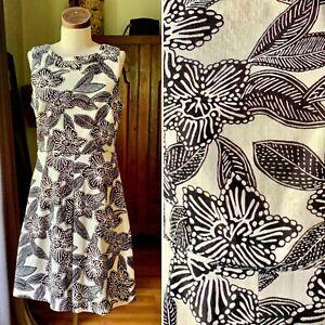 J CREW Tropical Cotton Dress WOW Size 6 NWOT