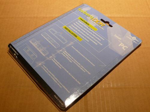 Vantec Icberq DDR Memory Heatspreader Aluminum Blue