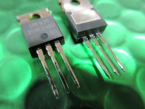 2 por IRF610 International Rectifier canal N potencia MOSFET Transistor HEXFET