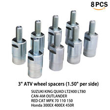 "16pcs 4/"" P/&W ATV Quad Wheel Spacer M10-1.25 Yamaha,Kawasaki more 2.0/"" per side"