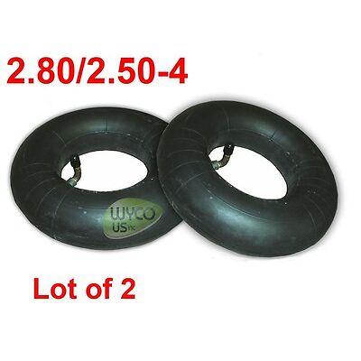 2 HEAVY DUTY INNER TUBES 2.80/2.50-4, 250-4, 2, CARTS, WAGONS & WHEELBARROWS