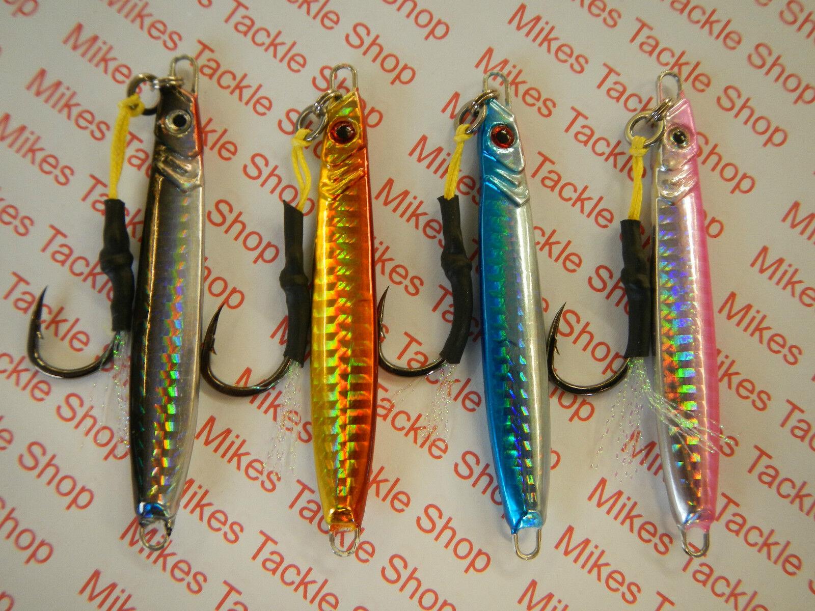 Tsunami Frenzy Jigs Spinners avec paquets Assist Hooks vendu en paquets avec de 2 8c628d