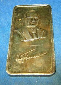 1974-Hamilton-Mint-Harry-S-Truman-Silver-Art-Bar