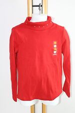 Gymboree Holiday Penguin Chalet Girls Size 5 Top Shirt Turtleneck Red NWT NEW
