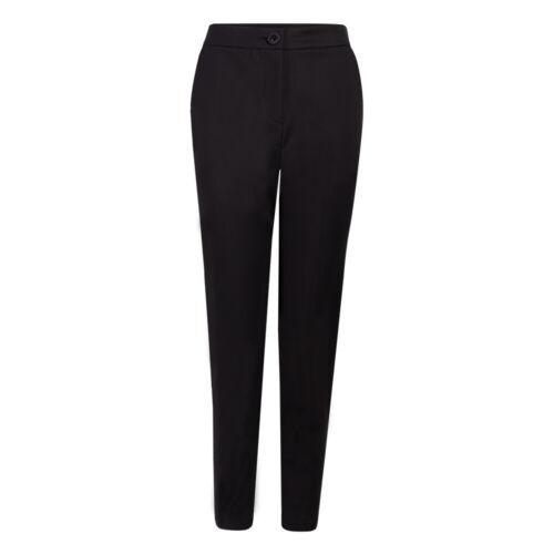 Fever London Corin Pantalon Noir Taille 10 Bnwt Rrp £ 64.99