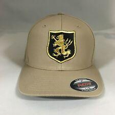 Navy Seal Team 6 Devgru Gold Team Flexfit Hat Yupoong Wool Blend 6477 Cap Khaki
