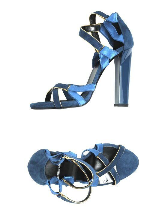 Pierre Hardy Hardy Hardy azul sandalias tamaño 40.5 us 10  soporte minorista mayorista