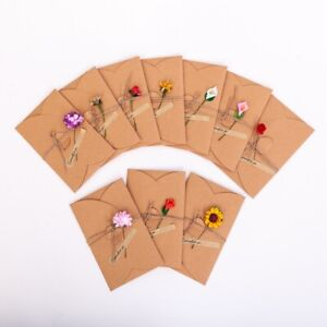 With-1set-School-Handmade-Supply-Sticker-Gift-Card-Flower-Envelope-Kraft-Paper