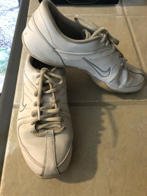 White Leather Cheer Dance Shoes Womens