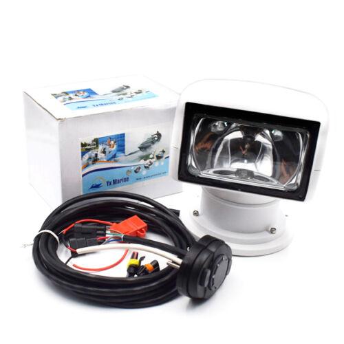 Remote Control Spotlight SUV Car Marine Searchlight 12V 100W Bulb Sophisticated