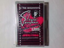STEVIE RAY VAUGHAN & DOUBLE TROUBLE In the beginning mc SIGILLATA
