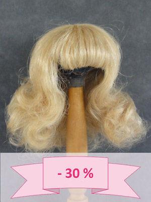-30% Promo - Parrucca Per Bambola T2 (20.5cm) 100% Capelli Naturali - Bravot