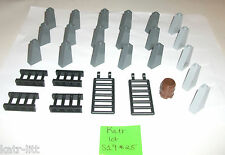 LEGO Castle Roof Tile Slope 4460 1x2x3 6020 Lattice 30055 Fence Ladder 4 7097