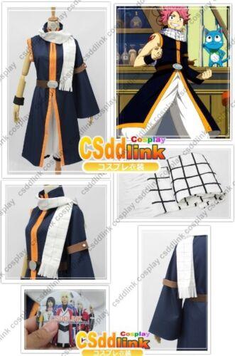 Fairy Tail Natsu Dragneel Cosplay Costume ver2