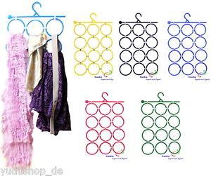 Accessiorshalt<wbr/>er Raumsparbügel Multi Hänger für Schals Krawatten Gürtel  Tücher