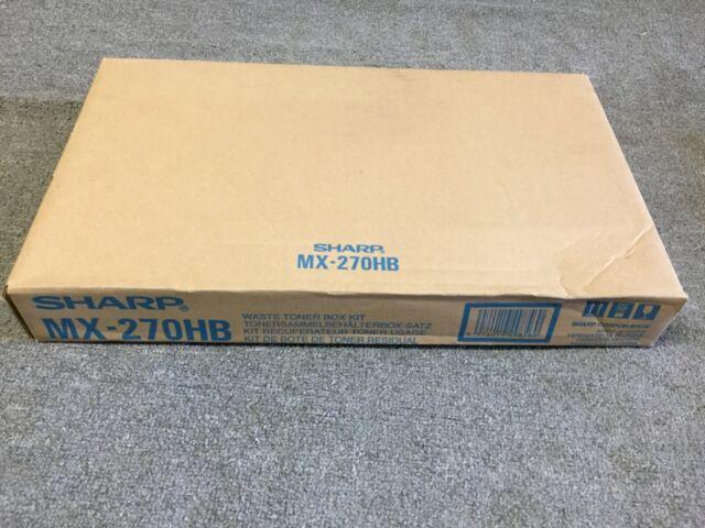 Genuine Sharp MX-270HB Waste Toner Box Kit