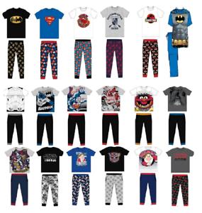 Men/'s /& Older Boy/'s Character Pyjamas Set Official Licence Men/'s Sleepwear