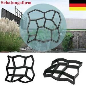 DIY Pflasterform Betonpflaster Gießform Schablone Schalungsform Garten Gehweg