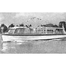 Bauplan Füssen Modellbau Modellbauplan Fahrgast-Boot
