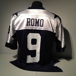 Dallas Cowboys TONY ROMO  9 NFL Football Reebok Vintage Collection ... 4b38f5d64