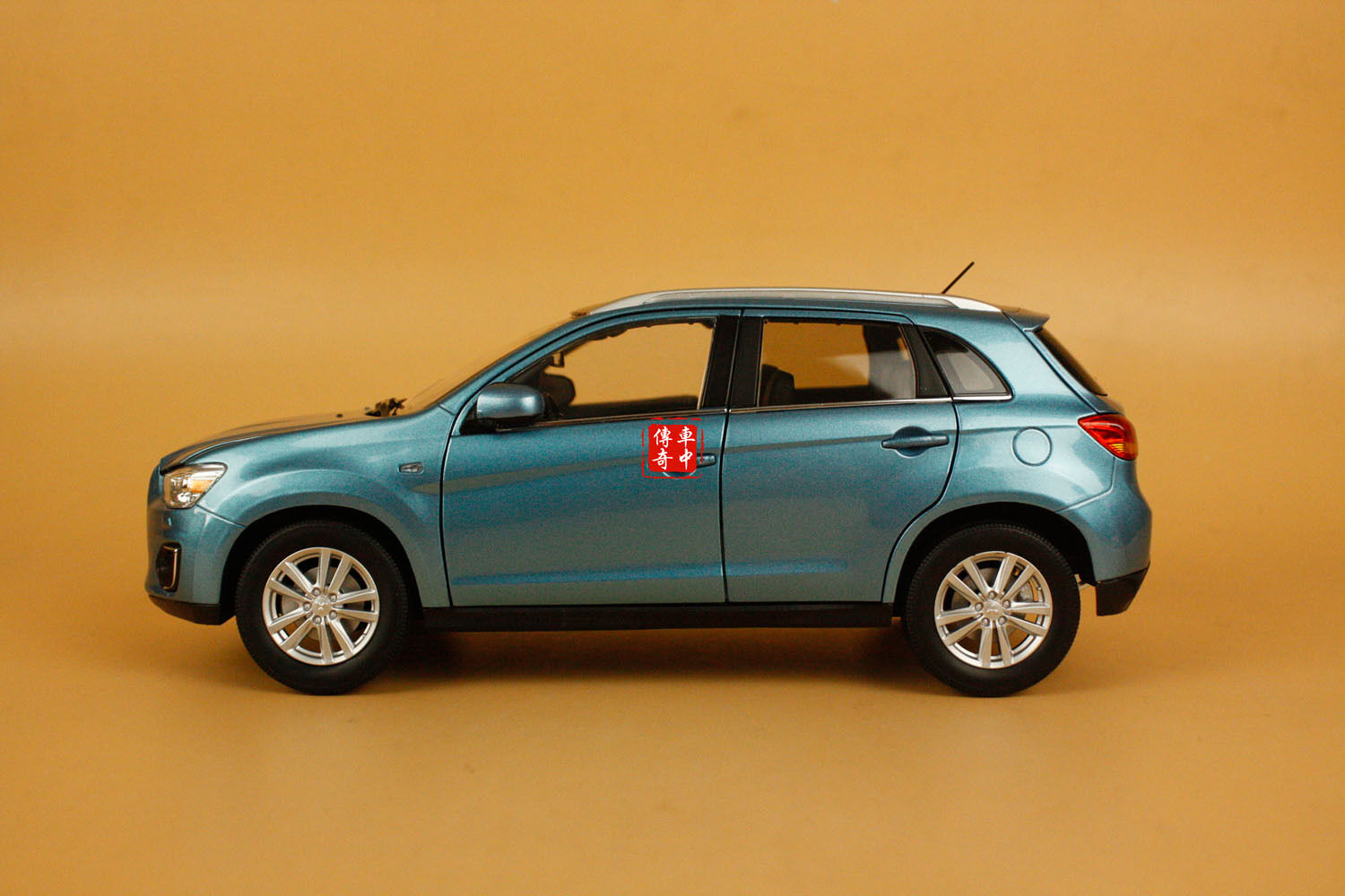 1 18 new mitsubishi asx suv diecast model blue color ebay. Black Bedroom Furniture Sets. Home Design Ideas