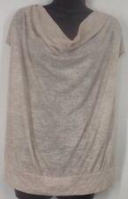 Lane Bryant Plus Size 18/20W Thin Knit Sleeveless Banded Top Blouse Shirt H121