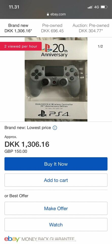 Playstation 4, Sony Limited Edition, Perfekt