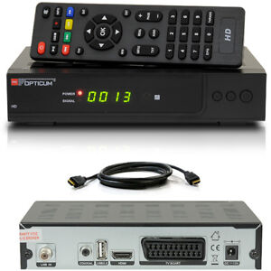 FULL-HDTV-HD-Digital-SAT-Receiver-OPTICUM-AX300-plus-X300-Scart-HDMI-DVB-S2-S60