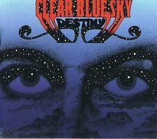 clear blue sky - destiny - + 3 bonus - digipak edition ( UK 1970/90 )  CD
