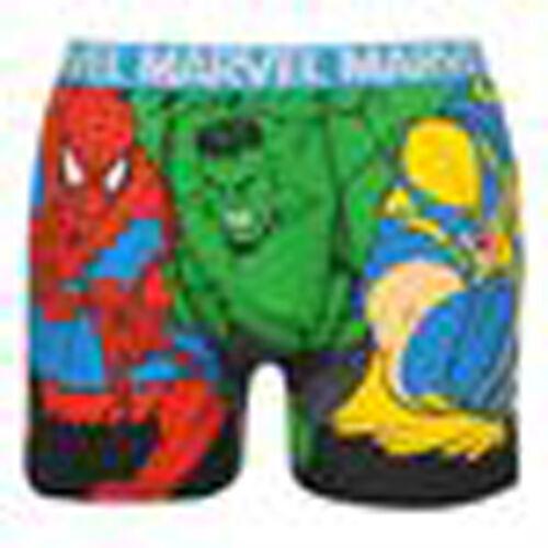 BOXER da uomo Cartoon Marvel Spiderman Hulk Wolverine Pantaloncini Pantaloni IL GIORNO SUCCESSIVO POST