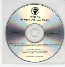 (FF438) Rufige Kru, Shanghai Dub - 2009 DJ CD