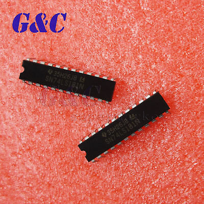 1//2//5PCS SN74LS181N 74LS181N IC ARTHMTC UNIT//FUN GEN 24-DIP NEW