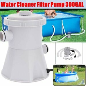 Details about Electric Swimming Pool Filter Pump For Above Ground Pools  Cleaning Tool 220V