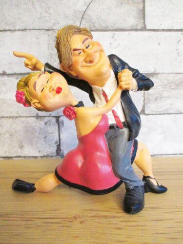 Tanzpaar Tanzen Dancing lustige Funny Beruf Figur Profession 16 cm Neu