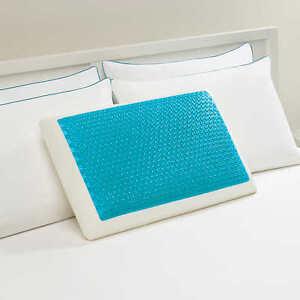 Comfort Revolution Hydraluxe Gel Memory Foam Bed Pillow, Standard