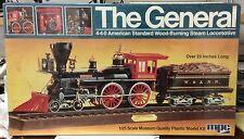 "1980 MPC ""The General"" 4-4-0 Standard American Steam Locomotive model kit 1/25"