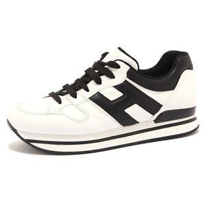 5224U sneaker donna HOGAN H222 black/white shoe woman | eBay