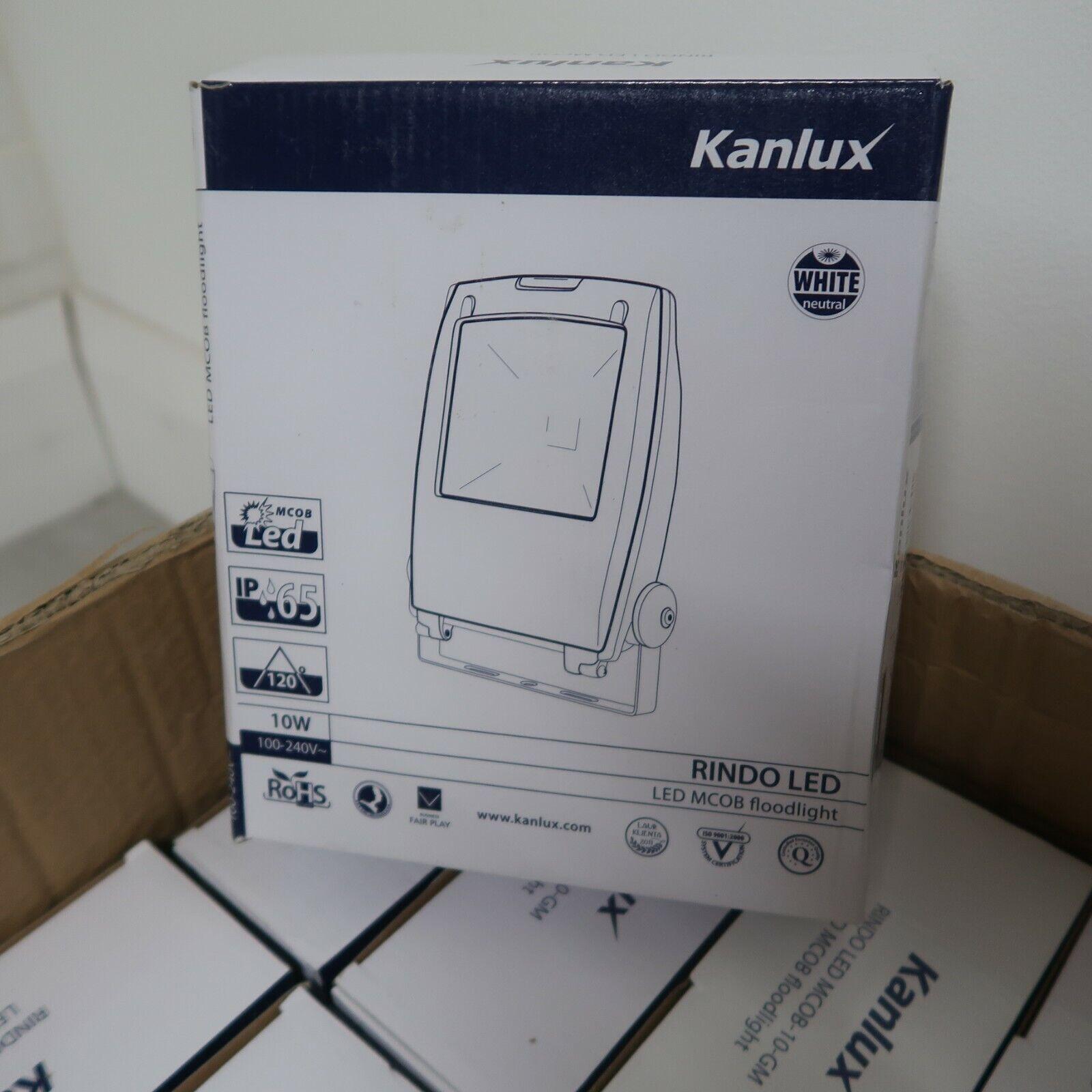 Kanlux RINDO LED Floodlight with motion sensor  MCOB Kanlux 10 Watts