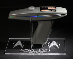 acrylic display stand for Diamond Select Star Trek Classic Phaser prop replica