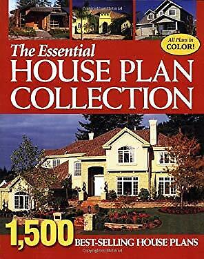 Essential House Plan Collection : 1,500 Best-Selling Home Plans