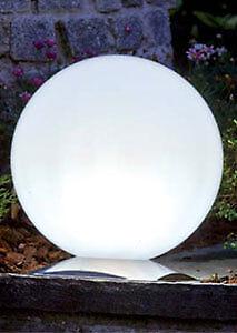 SFERA LAMPADA Sun Shine con edelstahlfuss 30 cm