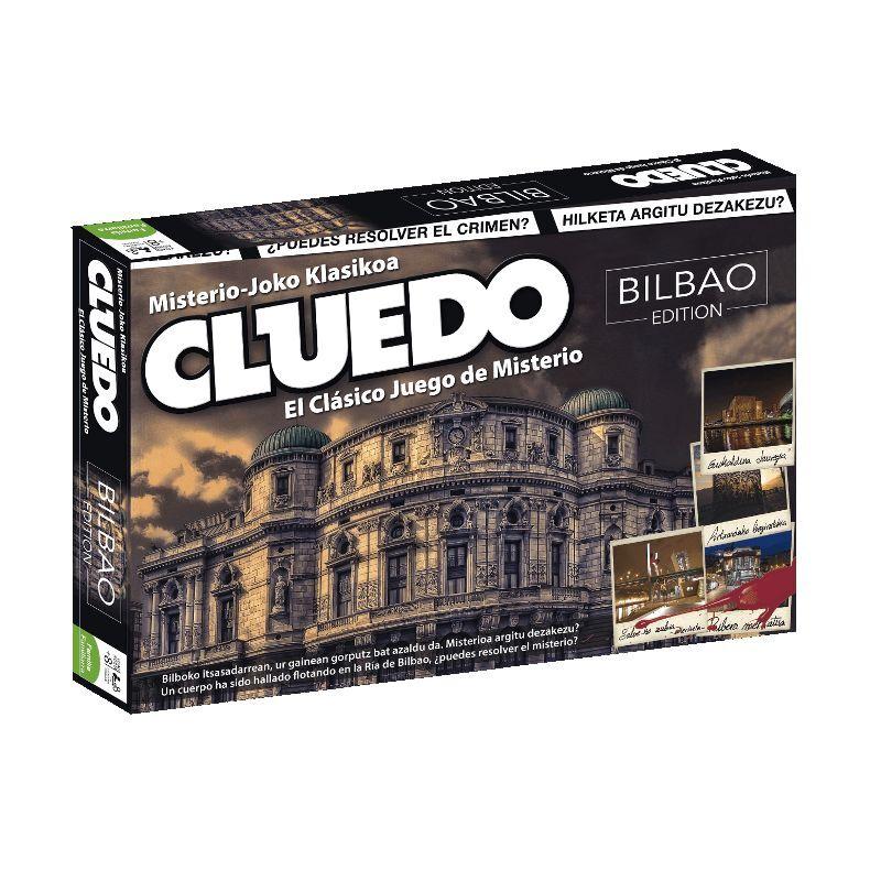 Cluedo ausgabe bilbao - der klassiker - spiel geheimnis - ein.baskisch   spanisch