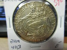 1914 BHM-4113 Pro Causa Justitiae WW1 Allied Leaders Silver Plated Bronze 35mm